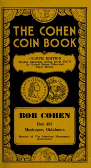 Cohen Coin Book, Fourth Edition