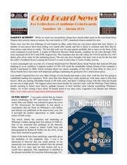 Coin Board News (#58)