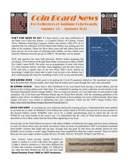 Coin Board News (#59)