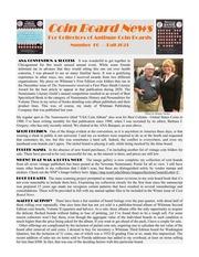 Coin Board News (#60)