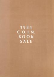 1984 C.O.I.N. Book Sale