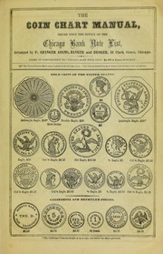 Coin Chart Manual supplement to F. Granger Adams' Chicago Bank Note List