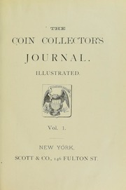 Coin Collector's Journal, vol. 1