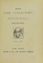 Coin Collector's Journal, vol. 4