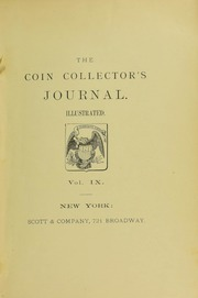 Coin Collector's Journal, vol. 9