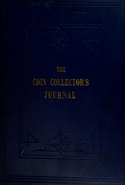 Coin Collector's Journal, vol. 10