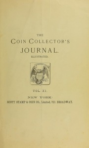 Coin Collector's Journal, vol. 11