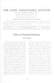 The Coin Collector's Journal