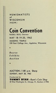 Coin Convention [Numismatists of Wisconsin]