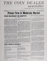 The Coin Dealer Newsletter: 1965