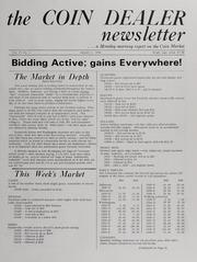 The Coin Dealer Newsletter: 1968