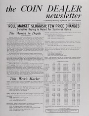 The Coin Dealer Newsletter: 1970