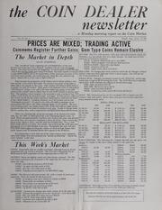The Coin Dealer Newsletter: 1971
