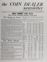 The Coin Dealer Newsletter: 1974
