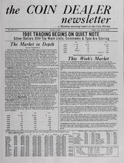 The Coin Dealer Newsletter: 1981
