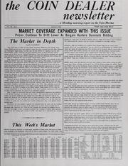 The Coin Dealer Newsletter: 1982