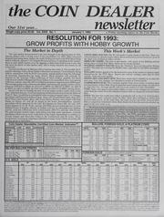 The Coin Dealer Newsletter: 1993