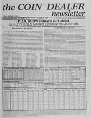 The Coin Dealer Newsletter: 1994