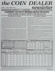 The Coin Dealer Newsletter: 2002