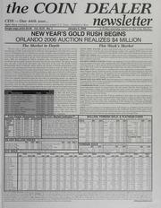 The Coin Dealer Newsletter: 2006