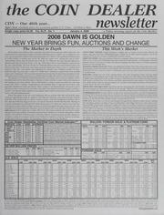 The Coin Dealer Newsletter: 2008