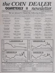 The Coin Dealer Quarterly II Newsletter: 1992