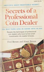 Secrets of a Professional Coin Dealer
