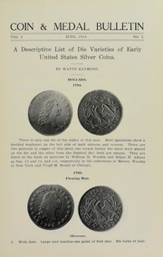 Coin & Medal Bulletin, Vol. 1, No. 3