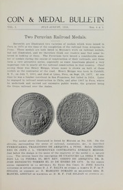 Coin & Medal Bulletin, Vol. 1, No. 4 & 5
