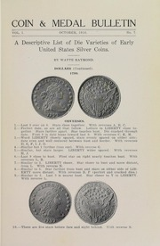 Coin & Medal Bulletin, Vol. 1, No. 7