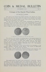 Coin & Medal Bulletin, Vol. 1, No. 8