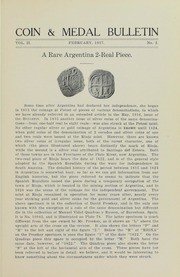 Coin & Medal Bulletin, Vol. 2, No. 2