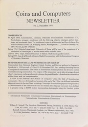Coins and computers newsletter 2 (December 1993)