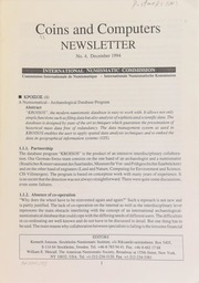 Coins and computers newsletter 4 (December 1994)
