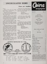 Coins: The Magazine of Coin Collecting - February 1962