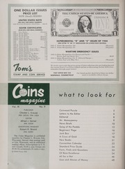 Coins: The Magazine of Coin Collecting - October 1962