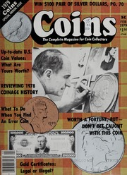 Coins: The Magazine of Coin Collecting - February 1979 (pg. 121)