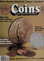 Coins: The Magazine of Coin Collecting - January 1982 (pg. 71)