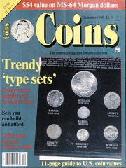 Coins: The Magazine of Coin Collecting - December 1990