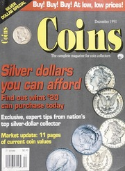 Coins: The Magazine of Coin Collecting - December 1991 (pg. 57)