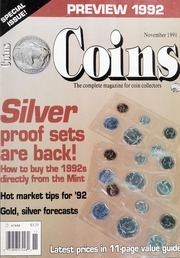 Coins: The Magazine of Coin Collecting - November 1991 (pg. 53)