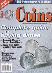 Coins: The Magazine of Coin Collecting - January 1992 (pg. 43)