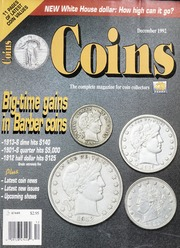 Coins: The Magazine of Coin Collecting - December 1992 (pg. 40)