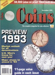Coins: The Magazine of Coin Collecting - November 1992 (pg. 57)