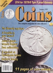 Coins: The Magazine of Coin Collecting - January 1993 (pg. 31)