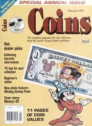 Coins: The Magazine of Coin Collecting - February 1993 (pg. 35)