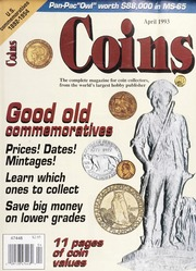Coins: The Magazine of Coin Collecting - April 1993 (pg. 35)