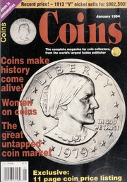 Coins: The Magazine of Coin Collecting - January 1994 (pg. 57)
