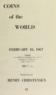 Coins of the world ... [02/10/1967]