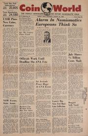 Coin World [08/25/1960]